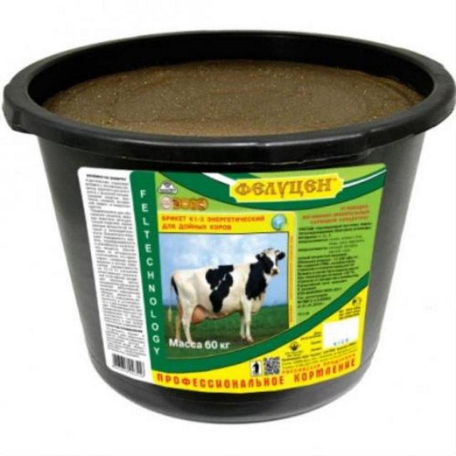 Коровы - Влияние концентрата  «Золотой Фелуцен» на обмен белка у бычков - kormlenie